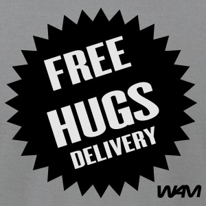 FREE HUGS DELIVERY - Men's T-Shirt by American Apparel
