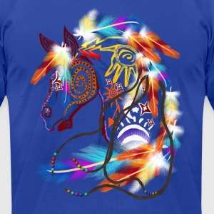 Bright Horse - Men's T-Shirt by American Apparel