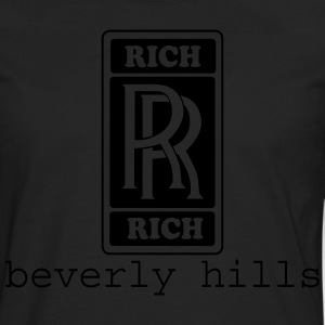 Black rich rich by wam Hoodies - Men's Premium Long Sleeve T-Shirt
