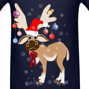 The Christmas Reindeer - Men's T-Shirt