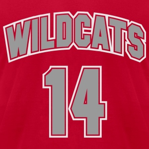 Wildcats 14 - Men's T-Shirt by American Apparel