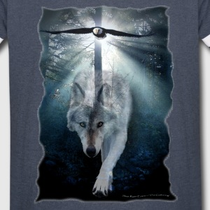 Wolf & Eagle (The Gathering) - Vintage Sport T-Shirt