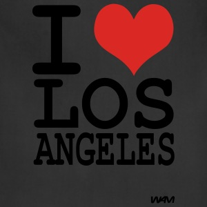 Black iI love los angeles by wam Hoodies - Adjustable Apron