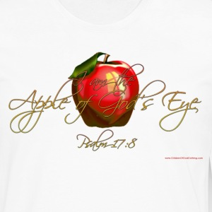 White Apple of Gods Eye Christian T-Shirts T-Shirts - Men's Premium Long Sleeve T-Shirt