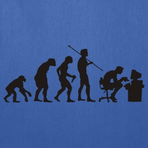 Navy Evolution of a Computer Geek T-Shirts - Tote Bag