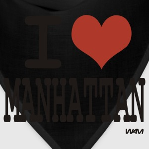 Black i love manhattan by wam Tanks - Bandana