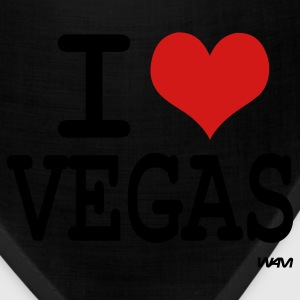 Black I love vegas by wam Bags  - Bandana