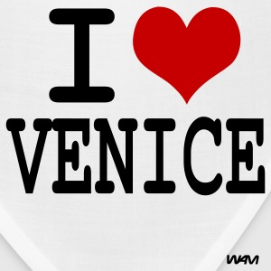 Fuchsia i love venice by wam Tanks - Bandana