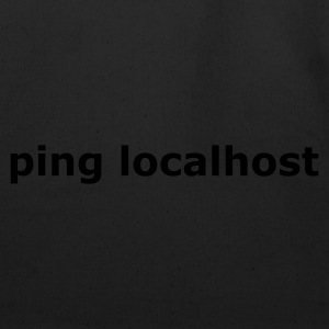 ping localhost - nerd - admin T-Shirts Asphalt - Eco-Friendly Cotton Tote