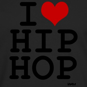 Black i love hip hop by wam Tanks - Men's Premium Long Sleeve T-Shirt