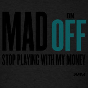 Black madoff by wam Hoodies - Men's T-Shirt