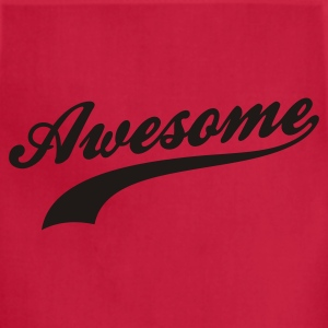 Red Awesome Women's T-shirts - Adjustable Apron