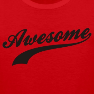Red Awesome Women's T-shirts - Men's Premium Tank