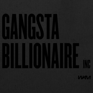 White gangsta billionaire inc by wam Buttons - Eco-Friendly Cotton Tote