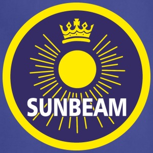 Navy Sunbeam emblem - AUTONAUT.com T-Shirts - Adjustable Apron