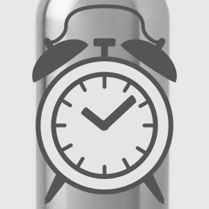 Turquoise alarm clock T-Shirts - Water Bottle