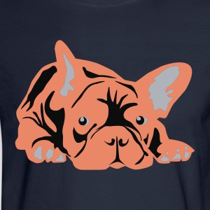 Pink Frenchie - Men's Long Sleeve T-Shirt