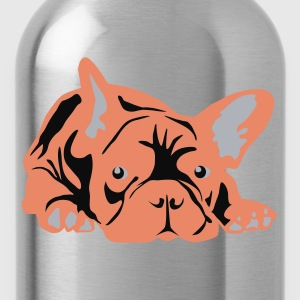 Pink Frenchie - Water Bottle