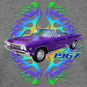 1967 Chevy Chevelle - Women's Wideneck Sweatshirt