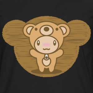 The stuffed toy of the bear - Men's Premium Long Sleeve T-Shirt