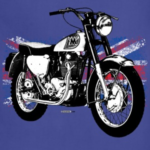 Navy Matchless Sports Scrambler - AUTONAUT.com T-Shirts T-Shirts - Adjustable Apron
