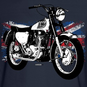 Navy Matchless Sports Scrambler - AUTONAUT.com T-Shirts T-Shirts - Men's Long Sleeve T-Shirt