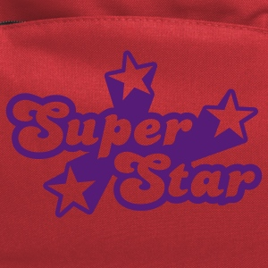 Red Superstar Women's T-shirts - Computer Backpack