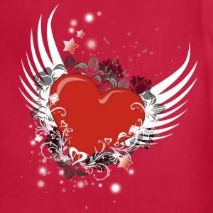 Heart & Wings Design - Adjustable Apron