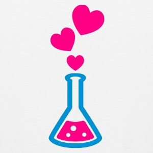 Love Potion - Escaping Heart Bubbles - T Shirt - Womens - Men's Premium Tank
