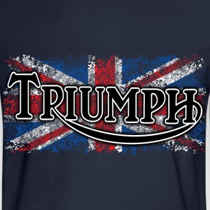 Navy Triumph - AUTONAUT.com T-Shirts - Men's Long Sleeve T-Shirt
