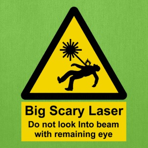 Big Scary Laser T - Tote Bag