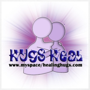 Hugs Heal Button - Men's T-Shirt
