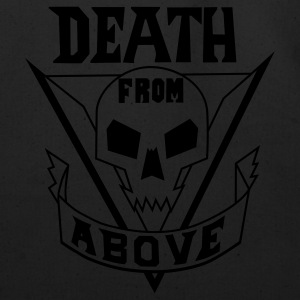 Black deathfromabove Long sleeve shirts - Eco-Friendly Cotton Tote