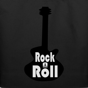 Rock n Roll Guitar Tee - Eco-Friendly Cotton Tote
