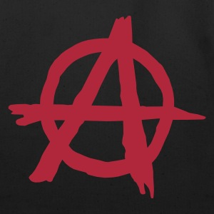 Black Anarchy T-Shirts - Eco-Friendly Cotton Tote