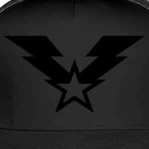 Lightning Star Insignia - Reflective - Trucker Cap
