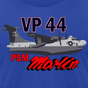 Royal blue US Navy Lockheed Neptune P2 Sub Hunter Hoodies - Men's T-Shirt by American Apparel
