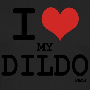 Black i love my dildo by wam Women's T-shirts - Men's Premium Long Sleeve T-Shirt