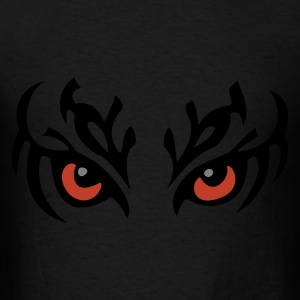 Black Tribal Eyes Bags  - Men's T-Shirt