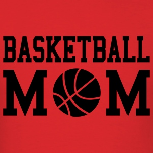 Basketball Mom Hooded Sweatshirt - Men's T-Shirt