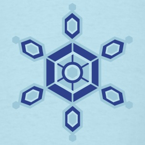 Crystal Snowflake - Men's T-Shirt