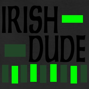 Black Irish Dude, 3 Color Design Sweatshirts - Leggings