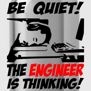 be quiet - the engineer - Water Bottle