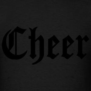 Black Cheer Hooded Sweatshirts - Men's T-Shirt