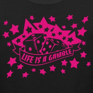 Black life is a gamble Women's T-shirts - Men's Premium Tank