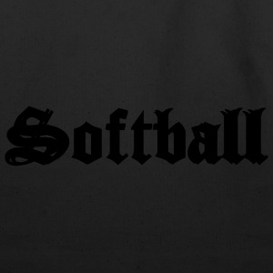 Black Softball Hooded Sweatshirts - Eco-Friendly Cotton Tote