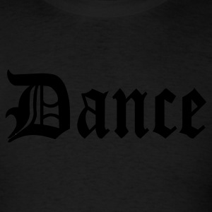 Black Dance Design Tanks - Men's T-Shirt