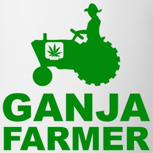 White Ganja Farmer T-Shirts - Coffee/Tea Mug
