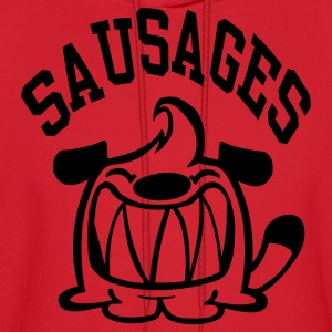 Red Sausages! Kids Shirts - Men's Hoodie