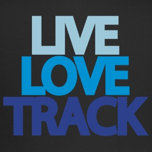 Live Love Track Hooded Sweatshirt - Trucker Cap